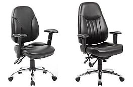 Leather Operator Chairs