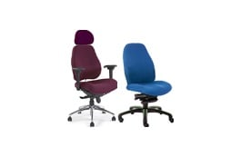Fabric Executive Chairs £200 - £300