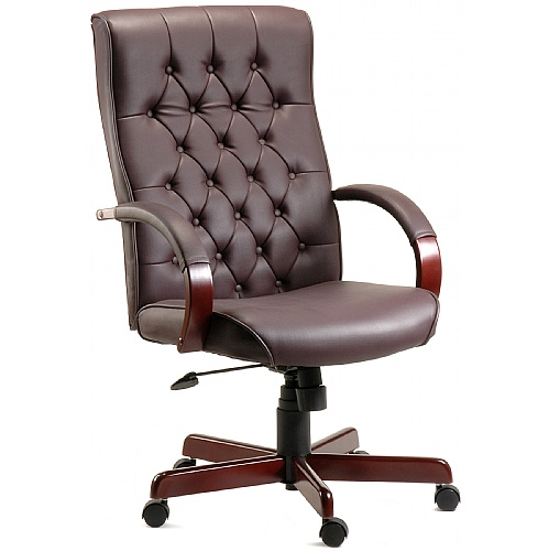 Warwick Traditional Leather Manager chair