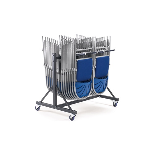 Low Hanging Chair Trolley - 2 Rows - Office Chairs