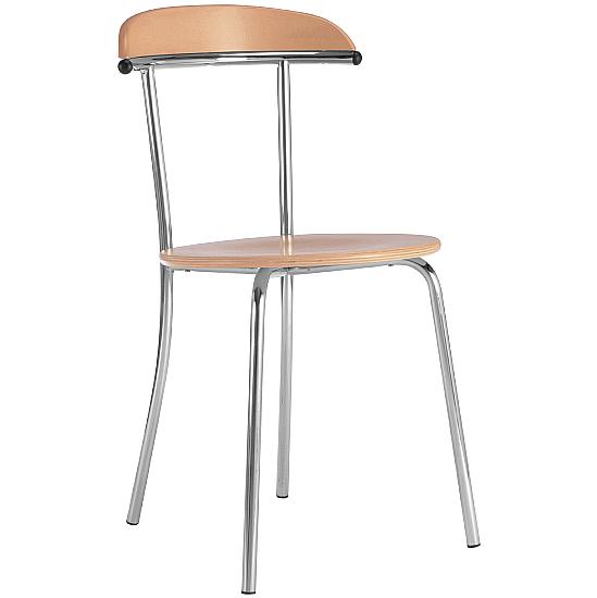 Arcadia Beech Bistro Chair - Office Furniture