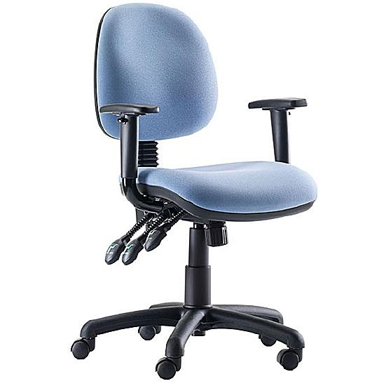 Stewart Medium Back Operator Chair - Office Chairs