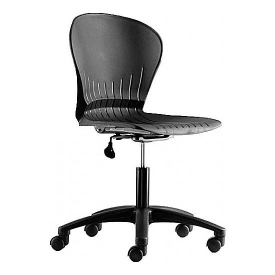 Melrose Poly Swivel Chair - Office Chairs