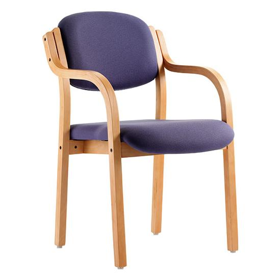 Windsor Beech Stacking Armchair - Reception Chairs