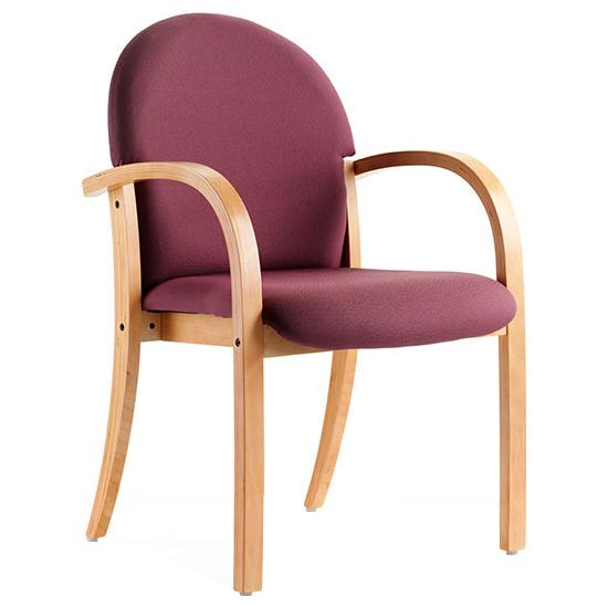 Rockingham Beech Stacking Chair - Meeting Room Chairs