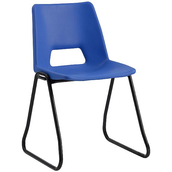 Scholar Polypropylene Skid Base Chairs - Education Furniture
