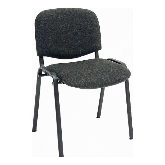 ISO Black Frame Conference Chair (Pack of 4) - Office Chairs