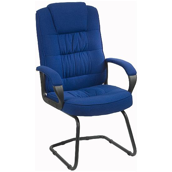Lexie Fabric Cantilever Chair - Office Chairs