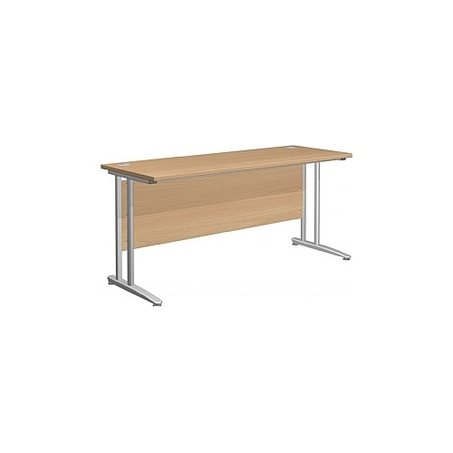 Arena Contract Shallow Cantilever Desk - Office Desk Ranges