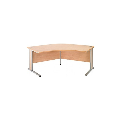 Arena Contract Plus Delta Cantilever Desk - Office Desk Ranges
