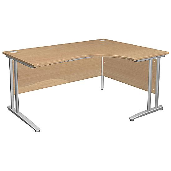 Arena Contract Ergonomic Cantilever Desk