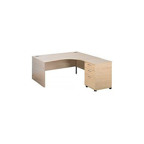 Eco Panel End Ergonomic Desks With Desk High