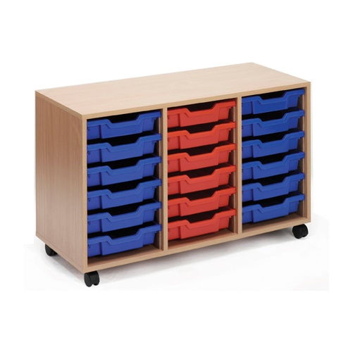 Scholar 18 Shallow Tray Storage