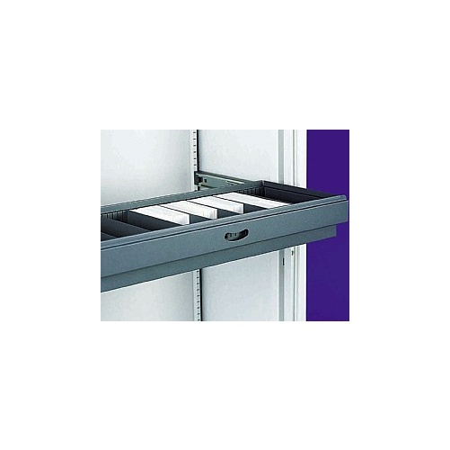 Silverline Slotted Drawer Dividers (Pack of 5)
