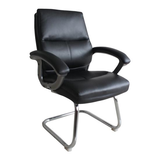 Greenwich Medium Back Leather Visitor Chair