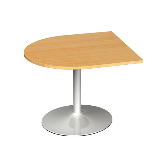 Modern D End Boardroom Extension Table