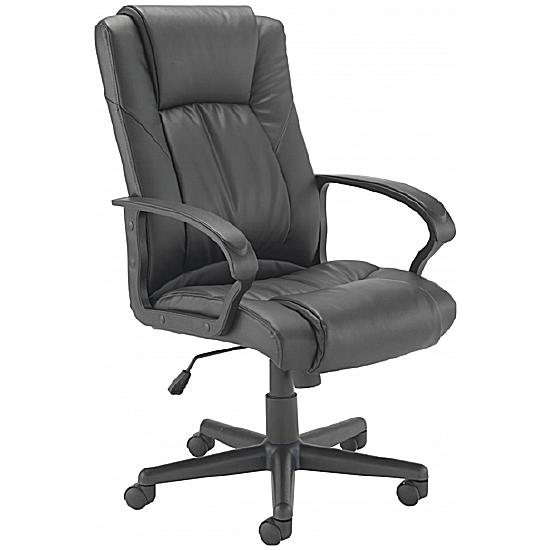 Casino Leather Manager Chair