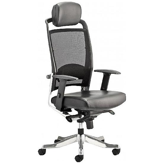 Thrift Mesh Back Task Chair With Headrest