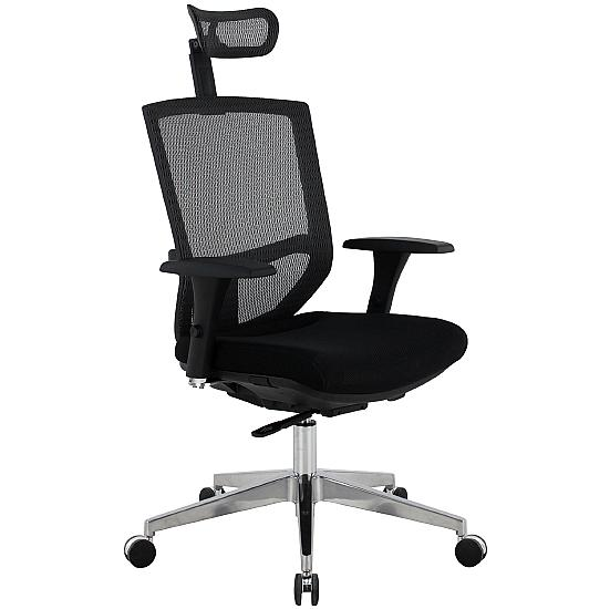 Jota 24Hr Ergonomic Mesh & Fabric Task Chair - Office Chairs