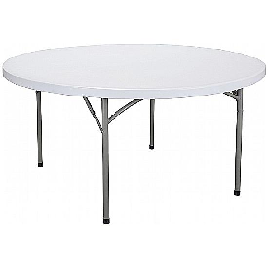 Next Day Poly Round Folding Table