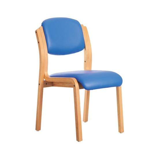 Lisbon Wooden Frame Stacking Chair
