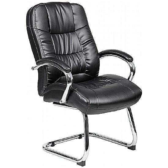 Romeo Leather Visitor Chairs