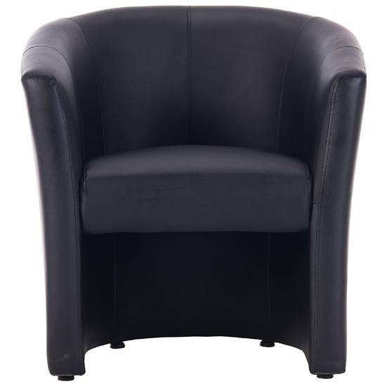 Brighton Single Seater Leather Look Tub Chair