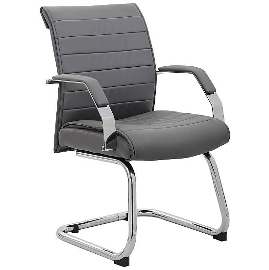 Aero Leather Visitor Chair