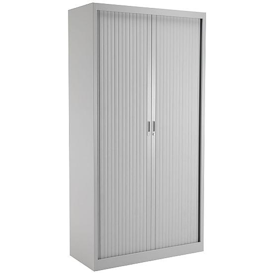 Next Day Talos Steel Tambour Cupboards - Office Furniture