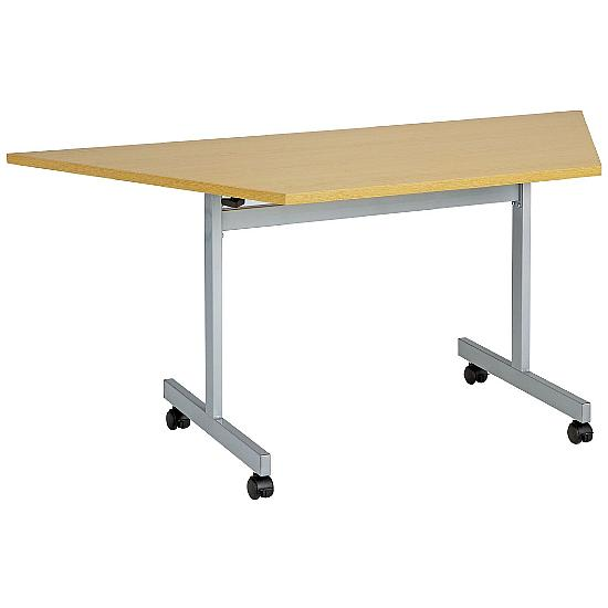 Next Day Flip Top Trapezoidal Table - Office Furniture
