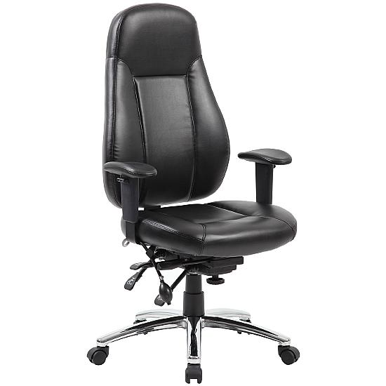 Yate 24 Hour Leather Task Chair - Office Chairs