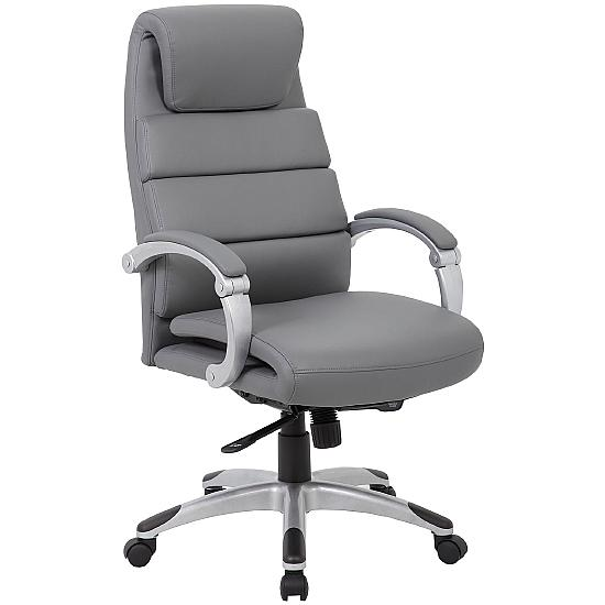 Altino Synchronous Bonded Leather Manager Chair - Office Chairs