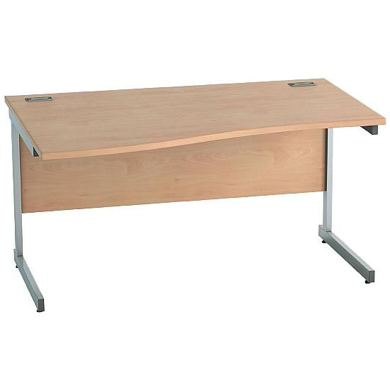 Eco Cantilever Wave Desks