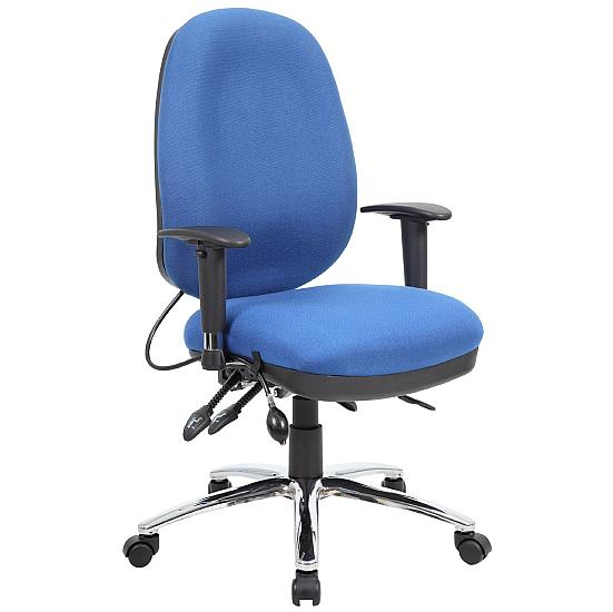 Sisqo Plus Ultimate Operator Chair With Posture Sprung Seat - Office Chairs
