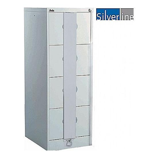 Silverline Secure Kontrax Filing Cabinets - Office Furniture
