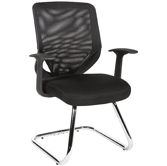 Nova Mesh Visitor Chair - Office Chairs