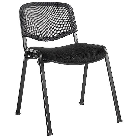 Mac Mesh Black Frame Conference Chair - Office Chairs