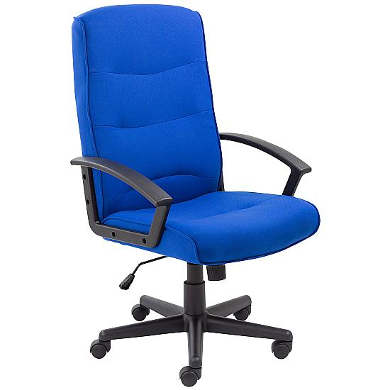Canasta II Fabric Manager Chairs - Office Chairs