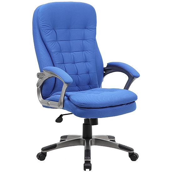Milan Fabric Manager Chair - Office Chairs