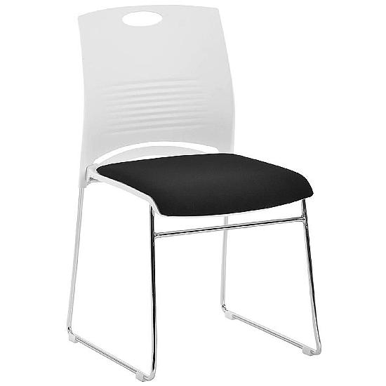 Kore Poly Chrome Frame Chair