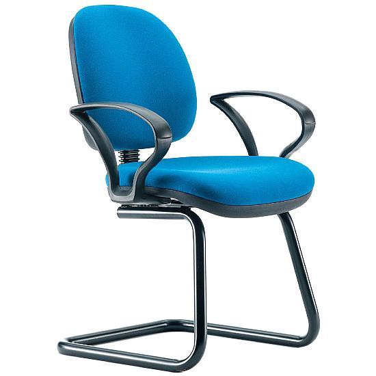 Two Cantilever Meeting Chair